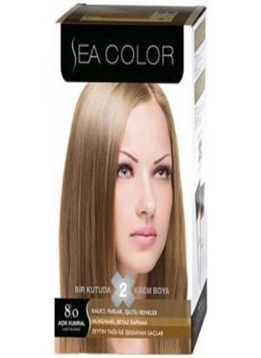 Sea Sea Color 2 Li Saç Boyası 8-0 Sarı
